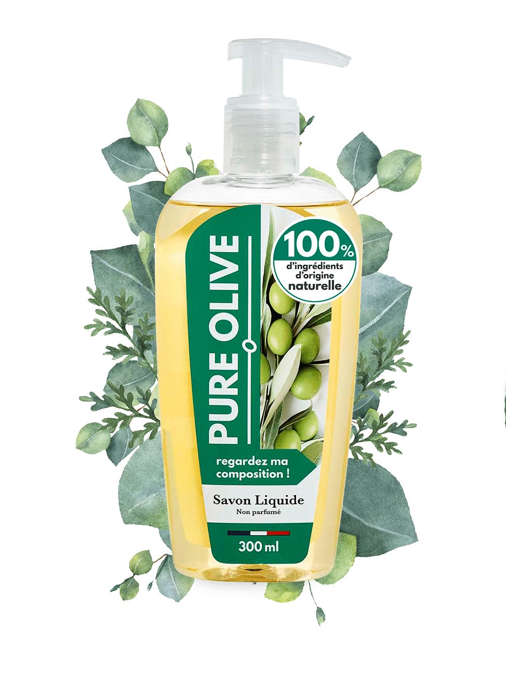 savon liquide pure olive liste inci sans parfum