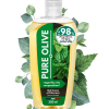gel douche corps cheveux pure olive menthe